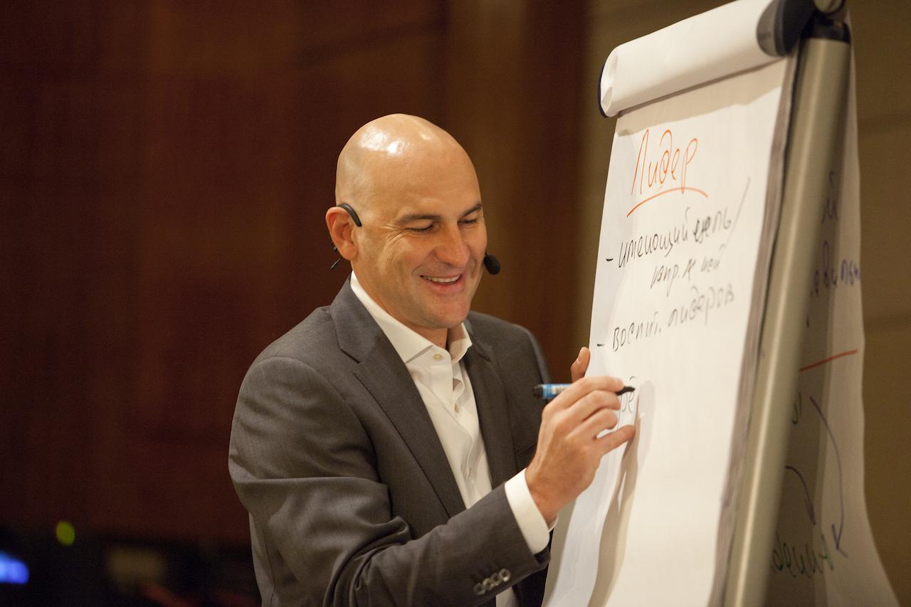 Радислав Гандапас о том, как стать лидером