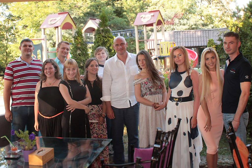 Радислав Гандапас с учениками