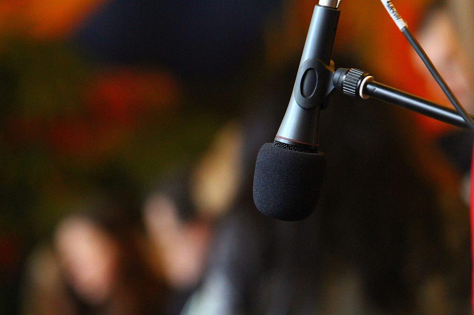 Микрофон Радислав Гандапас